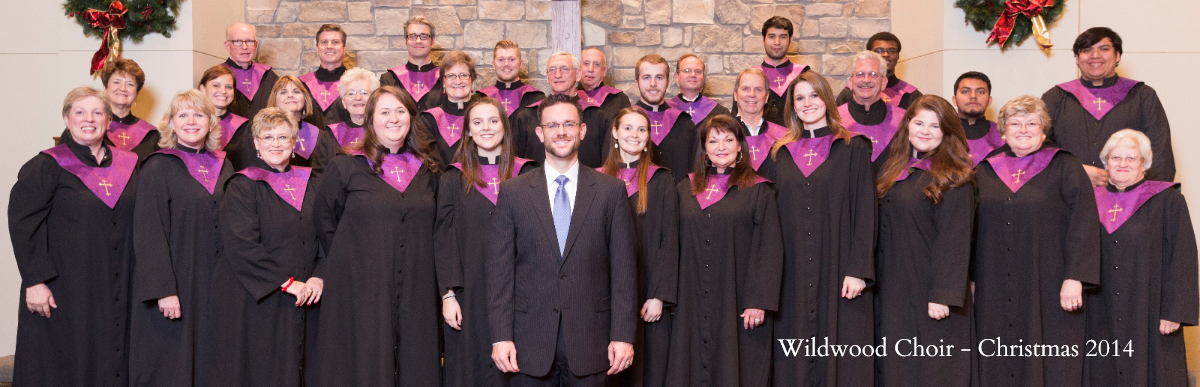 Wildwood Choir Christmas Picture 2014
